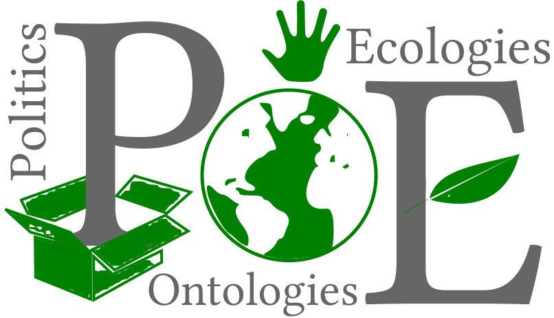 Politics Ontologies Ecologies